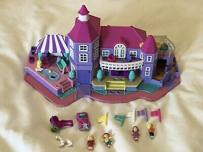 Bluebird Vintage 1994 Polly Pocket Magical Mansion - Complete - Rare