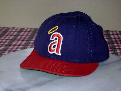 New Era 59Fifty California Angels Fitted Hat 7 3/8 La Anaheim Halo Cooperstown
