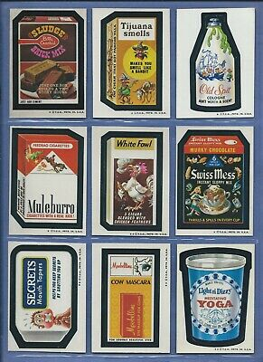 Wacky Packages Series 5 Complete Set 33 Of 33 Nmmt/Nmmt+ Beautiful!