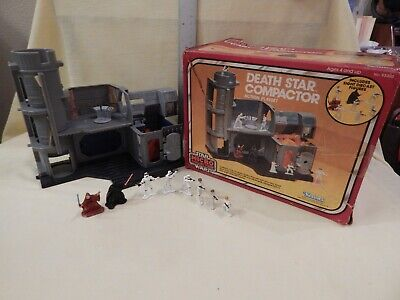 Star Wars Vintage Micro Collection DEATH STAR COMPACTOR Complete BOX FOAM