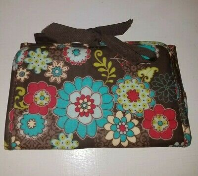 Thirty One Gifts 31 Fold-and-Go Notepad Organizer Fold It Up Floral Fanfare