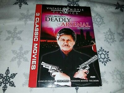 Charles Bronson's Deadly Arsenal Collection 3 Classic Movies DVD
