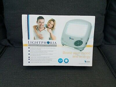 SAD Light Therapy System Portable Lightphoria Sun Box 10,000 Lux Energy Booster