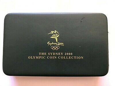 The Sydney 2000 Olympic Coin Collection 2 Sliver 1 Gold Royal Australian Mint