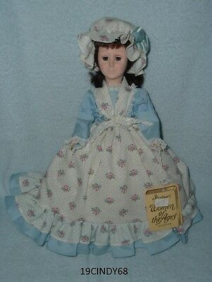 """Vintage Effanbee Women Of The Ages 13 Inch Tall """"Betsy Ross"""" #3372 Doll -In Box"""