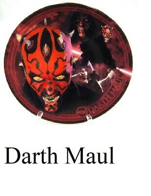 Star Wars Series 4 UK Exclusive Collector Plate - Darth Maul