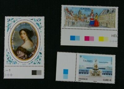 France 2019 3 timbres neufs