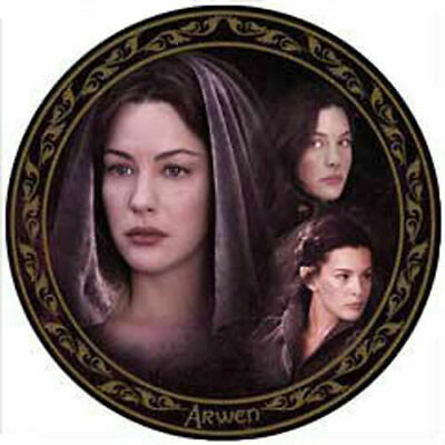 LORD OF THE RINGS ARWEN Exclusive Collector Plate - by CardsInc