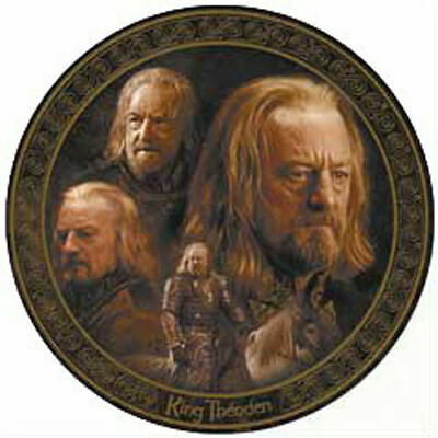 LORD OF THE RINGS THEODEN Exclusive Collector Plate - by CardsInc
