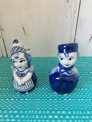 Dutch Boy And Girl Salt And Pepper Shakers.