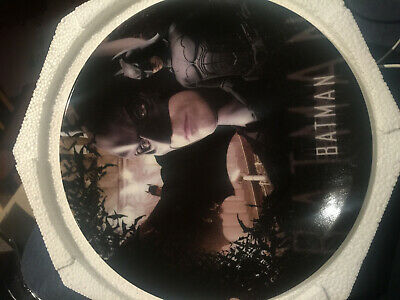 Batman Begins Christian Bale Exclusive Collector Plate - by CardsInc