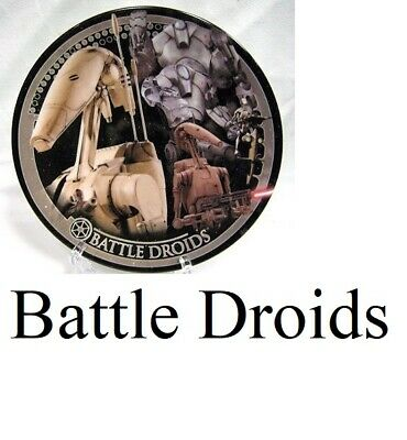 Star Wars Series 4 UK Exclusive Collector Plate - Battle Droids