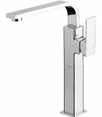 Phoenix RADII VESSEL MIXER Side Lever Handle, Electroplated Finish CHROME