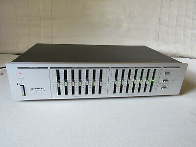 Pioneer SG-540 Stereo Graphic Equalizer / égaliseur graphique