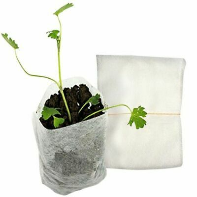 100Pcs Nursery Pots Seedling-Raising Bags Non-woven Fabrics Garden Supplies 8*10