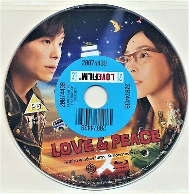 Love and Peace Blu Ray