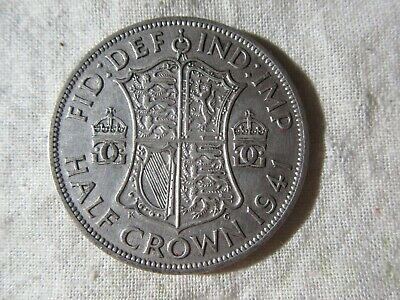 Uk  1941  Half Crown   1 Coin