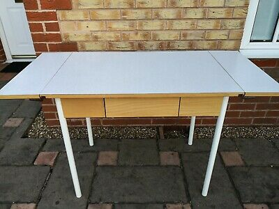 Kitchen / Dining Solid Wood Formica Top Drop Leaf Table