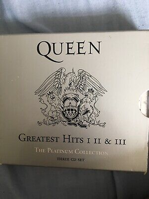Queen Greatest Hits I II & III The Platinum Collection 3 CD Set