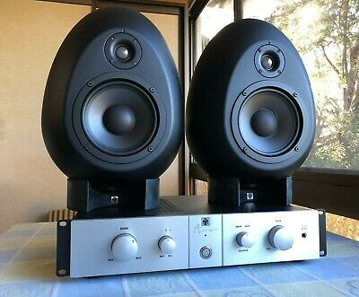 MunroSonic Egg 150 Studio monitors, mint condition
