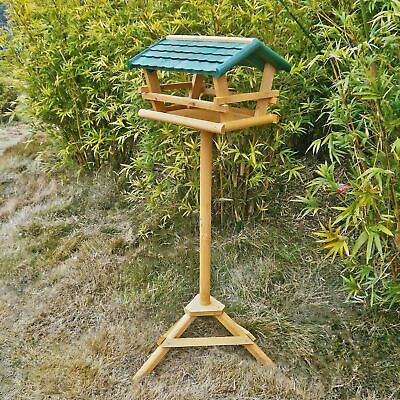 Wild Birds Premium Wooden Bird Table Attractive Solid Long Lasting Garden