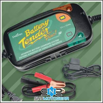 Battery Tender Plus 12V 1.25A Motorcycle Motorbike Battery Trickle Charger