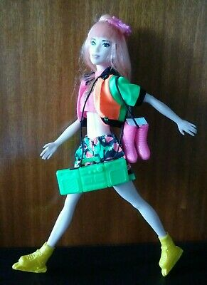 Barbie Fashionista Tall Skinny With Accessories