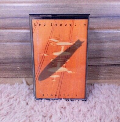 Led Zeppelin remasters tape cassette double tape edition