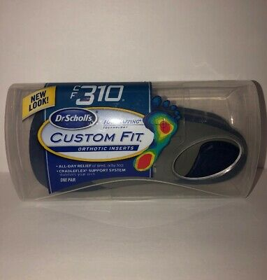 DR SCHOLLS CUSTOM Fit Foot Mapping FootMapping Orthotic Inserts YOU on