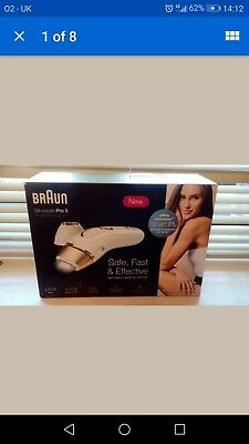BRAUN SILK EXPERT PRO 5 IPL PERMANENT HAIR REMOVAL SYSTEM new in box RRP £384