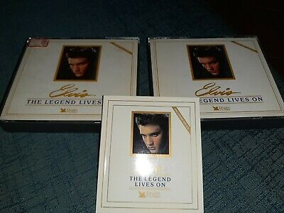 Elvis Presley -The Legend Lives On-Box -5 Cd -
