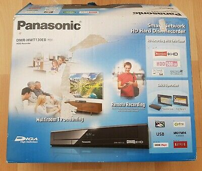 Panasonic DMR-HWT130EB Smart 500 GB Recorder with Twin Freeview+ Tuners