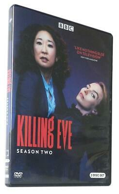 Killing Eve Season 2 DVD 2019 New Sealed Boxed FAST FREE Post UK Compatible