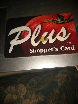 Dillon's/Kroger/Fry's Plus Used Collectible Shoppers Card NO VALUE