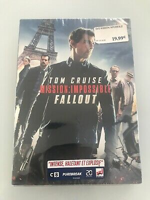 Mission Impossible Fallout / Dvd  Neuf Sous Blister
