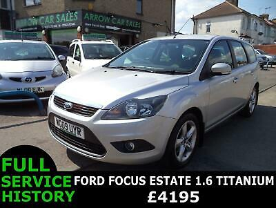 2009 Ford Focus 1.6 Zetec, Full Ford Service History, M.o.t Till August 2020