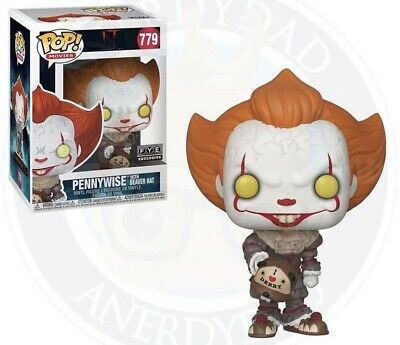 Funko Pop! IT Chapter 2: PENNYWISE WITH BEAVER HAT-FYE Exclusive PREORDER! NM