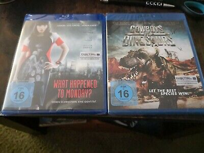 What Happened To Monday? +cowboys vs Dinosaurs bluray neu