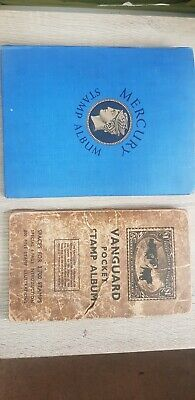 Old Stamp Albums With Hundreds Of Old Stamps in each From All Over The World