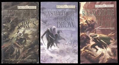 R A SALVATORE Hunters Blade Series Forgotten Realms Dungeons