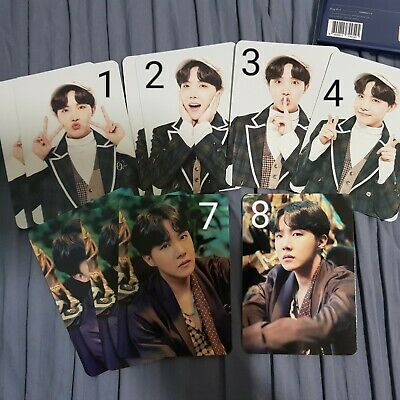BTS Muster 5 Photocard Hoseok J-Hope [Number 7; read description!]