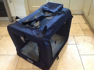 Large Bunty Canvas Folding Pet Travel Carrier Crate Dog Cat Fabric Cage