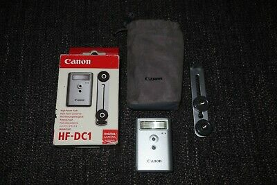 Canon HF-DC1 High Power Flash Boxed With Bracket