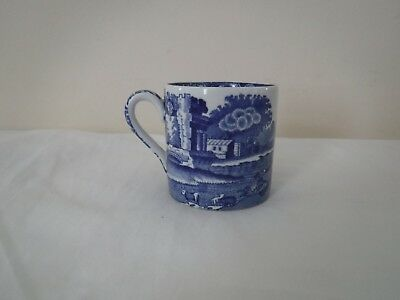 Vintage Copeland Spode Italian Pattern Blue & White Coffee Cup