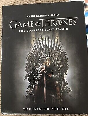 Game of Thrones: The Complete First Season One (Blu-ray 5-Disc) Good Condition!