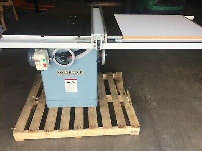 """Northtech Industrial Machinery 10"""" NT-10-53 Table Saw 5 HP, 230V, 3 Phase"""