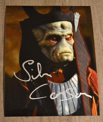 Autograph The Silas Carson As Nute Gunray In Star Wars Signed !!!Coa