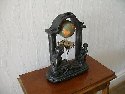 Clock Work Orrery.Astronomy,Antiques,Universe,Art,Steampunk,Educational,Vintage.