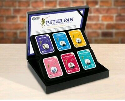 Peter Pan Silver Proof 50p Capsule Edition Coin Set (Low C.O.A: 12)