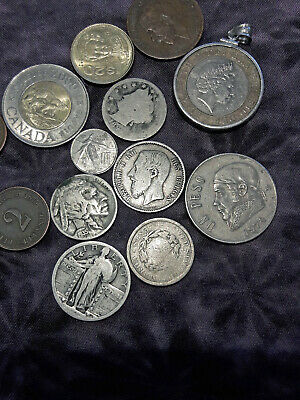Assorted World & Foreign Coins! Some Silver